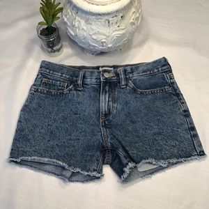 Girl's Old Navy Blue Jean Cut Off Shorts, 12